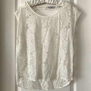 Lace Express Short Sleeve Top